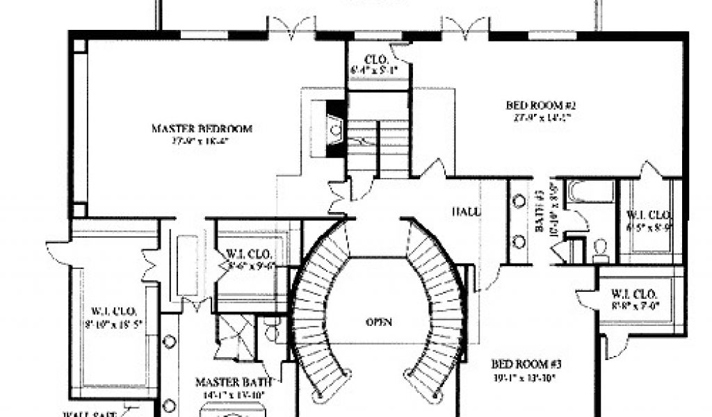 Grand Homes Floor Plans   Grand Home Plans Home Plans With Grand Staircase Joy Studio Design