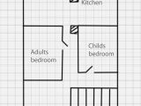 Graph Paper for House Plans How to Draw A House Plan On Graph Paper
