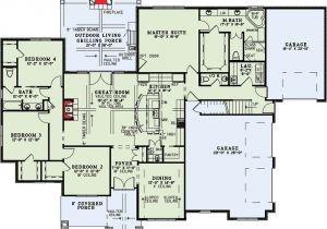 Great Floor Plans for Homes Craftsman Home with Vaulted Great Room 60631nd