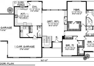 Great Floor Plans for Homes Exceptional Large Ranch Home Plans 6 Ranch House Plans