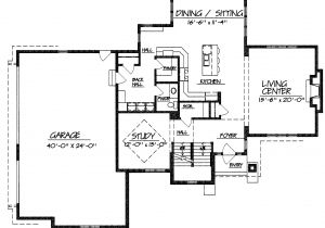 Great Floor Plans for Homes One Story House Plans Large Great Room
