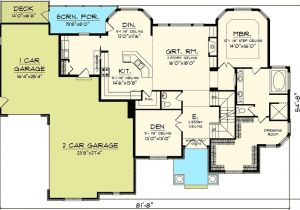 Great Floor Plans for Homes One Story House Plans with Large Great Room Liveideas Co