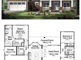 Great House Plans for Entertaining House Plan 55600 total Living area 1619 Sq Ft 3