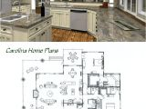 Great House Plans for Entertaining Midsize Country Cottage House Plan with Open Floor Plan