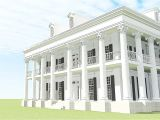 Greek Revival Home Plans Classic Greek Revival with Video tour 44055td 2nd