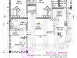 Ground Floor First Floor Home Plan Floor Plan and Elevation 2277 Sq Ft House Home Kerala Plans