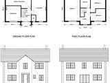 Ground Floor First Floor Home Plan Ground Floor and First Floor Plan Elevations and Sections