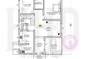 Ground Floor Plan for Home Floor Plan Of Ultra Modern House Kerala Home Design and