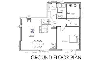 Ground Floor Plan for Home Floor Plan Self Build House Building Dream Home