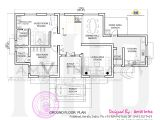 Ground Floor Plan for Home House Made Of Laterite Stone Kerala Home Design and