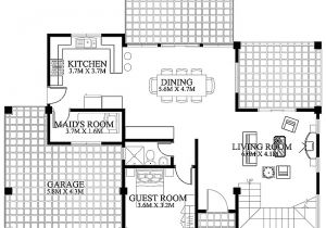 Ground Floor Plan for Home Modern House Design 2012002 Ground Floorpinoy Eplans