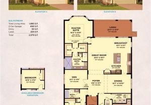 Gulfstream Homes Floor Plans Lakepark at Tradition Port St Lucie Real Estate