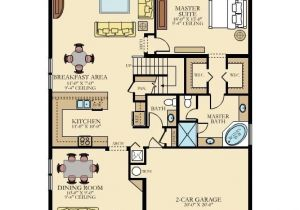 Gulfstream Homes Floor Plans Mulberry New Home Plan In Gulfstream Preserve by Lennar