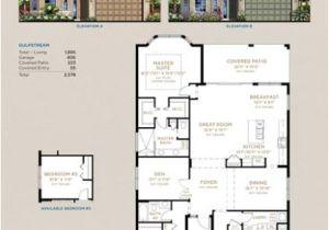 Gulfstream Homes Floor Plans townpark Gulfstream Model Home Port St Lucie Florida