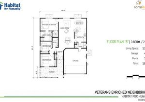 Habitat for Humanity House Floor Plans Lovely Habitat House Plans 9 Habitat for Humanity 3