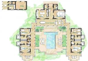 Hacienda Home Plans Hacienda Style Home Floor Plans Spanish Style Homes with