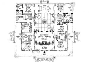 Hacienda Home Plans Hacienda Style House Plans Smalltowndjs Com