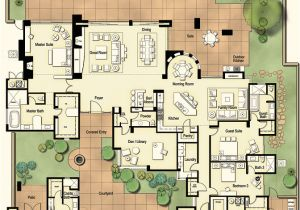 Hacienda Home Plans Hometalk Tucson Custom Home Hacienda Floor Plan