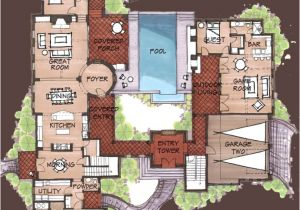Hacienda Home Plans Spanish Hacienda House Plans Find House Plans