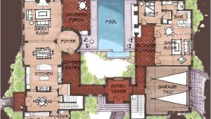 Hacienda Style Home Plans Hacienda Style Homes Spanish Hacienda Floor Plans
