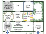Halloween Haunted House Floor Plans Garage Maze My Halloween Favorites Pinterest
