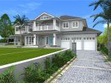 Hamptons Home Plans Architect Design 3d Concept Hamptons Style St Ives