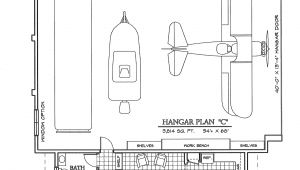 Hangar Home Plans Grass Roots Airpark