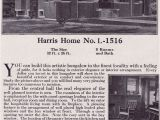 Harris Home Plans Website 1918 Craftsman Style Bungalow Harris Bros Co Kit Homes