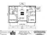 Hearthstone Home Plan Eastwood 1392a Hearthstone Homes