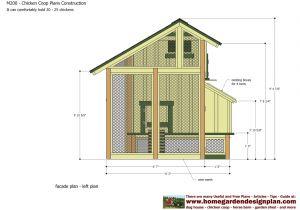 Hen Houses Plans Chicken Hen House Plans