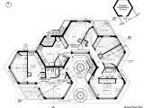 Hexagon Home Plans Hexagon Homes are More Logical Save Space when