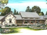 Hill Country House Plans with Wrap Around Porch Hill Country Home with Massive Porch 46052hc 1st Floor
