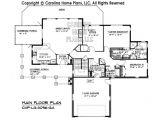 Hillside Home Floor Plans Large Hillside Ranch Home Plan Chp Lg 3096 Ga Sq Ft