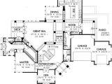 Hillside Home Floor Plans Spacious Hillside Craftsman Home Plan 69274am
