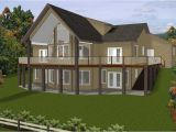 Hillside House Plans with A View Colonial Style Hillside Home Plans with Natural View