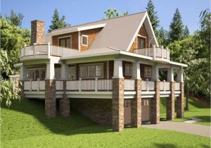 Hillside House Plans with A View Small Lake House Plans ... on log home building plans, rear view one story house plans, hillside home plans, hillside cottage plans, rear view home plans designs,
