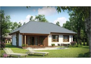 Hip Roof Home Plans :5 Hip Roof House Plans Small and Medium Size Homes with Up