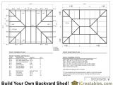 Hip Roof House Plans to Build Hip Roof Shed Plans Homes Plans 18019