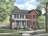 Historic southern Home Plans Traditional Plan with Historical southern Style 59103nd