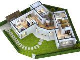 Home 3d Plan Modern Home 3d Floor Plans