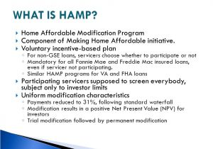 Home Affordable Modification Plan Fannie Mae Hamp Program Guidelines Priorityan