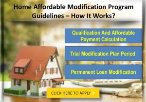 Home Affordable Modification Plan Learn About Home Affordable Modification Program