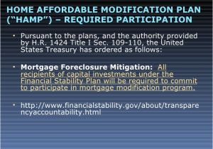 Home Affordable Modification Plan Loan Modification and Bankruptcy Basics Powerpoint