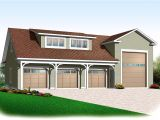 Home Architectural Plans 4 Car Rv Garage 21926dr Architectural Designs House