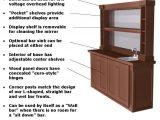 Home Back Bar Plans Design Woodworking Inc