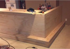 Home Bar Construction Plans How to Make A Bar In Basement Home Bar Design