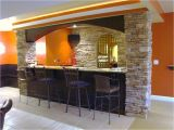 Home Bar Design Plans Having Fun In the Basement with these Basement Bar Ideas