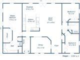 Home Builder Floor Plans Plans Furthermore 30 X 50 House Floor Plans Besides