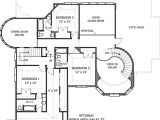 Home Building Plan Hennessey House 7805 4 Bedrooms and 4 Baths the House