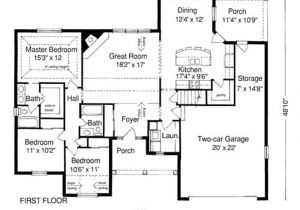 Home Building Plans Online House Plan Good Example Well thought Out Floor Building